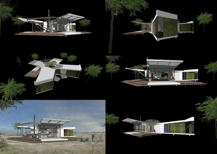 twinhouse:   door hans moor architect