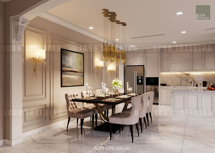Classic style dining room by ICON INTERIOR Classic