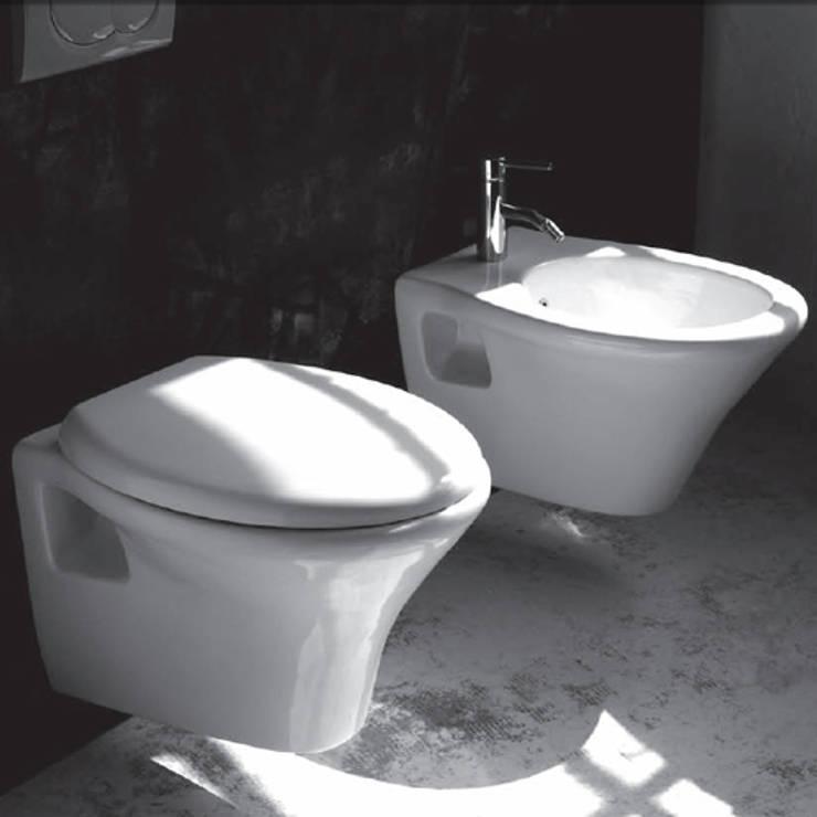 Jo Bagno It Arredo Bagno E Sanitari In Ceramica.Sanitari Sospesi In Ceramica Alfa Di Jo Bagno It Homify