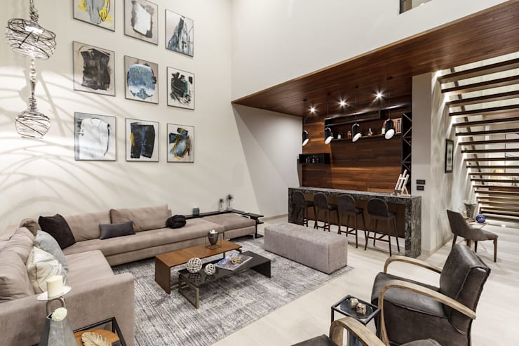 Living room by Loyola Arquitectos