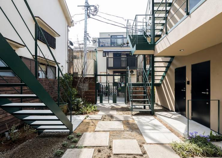 Garten von Unico design一級建築士事務所, Ausgefallen