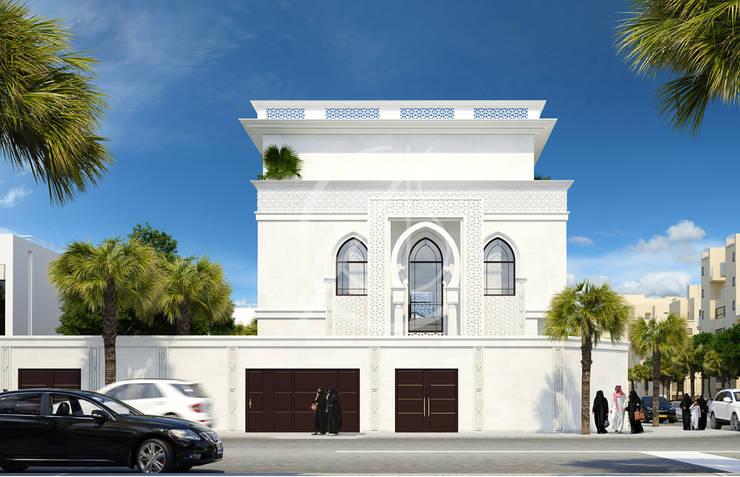 Villas de estilo  de Comelite Architecture, Structure and Interior Design ,