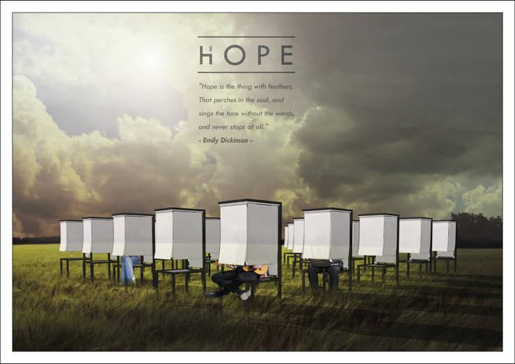 Hope - Installation for Sunbrella Future Design 2015:   by Studio Benang Merah