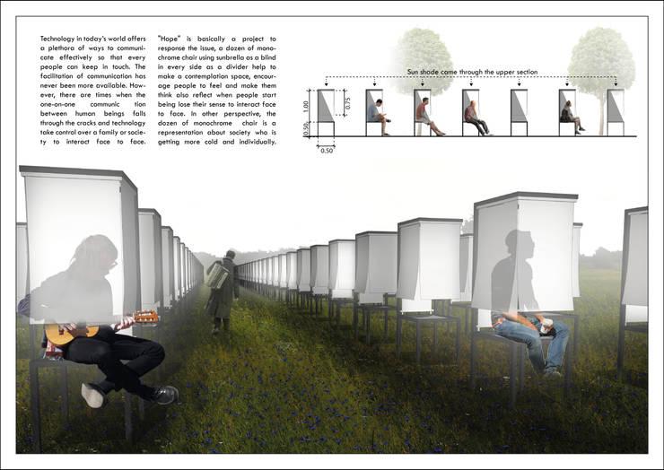 Hope – Installation for Sunbrella Future Design 2015:   by Studio Benang Merah