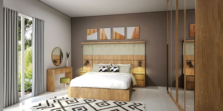 Kamar Utama:   by Vivame Design