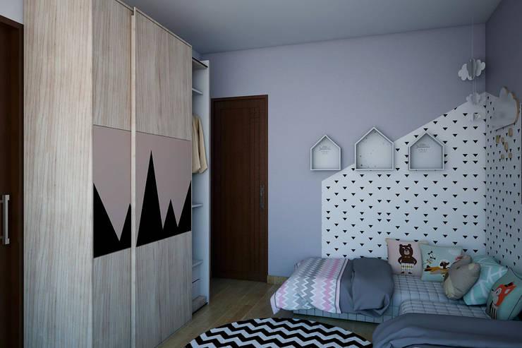 Kamar Anak Perempuan:   by Vivame Design