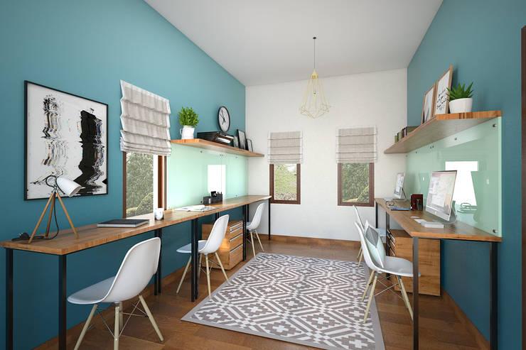Ruang Kerja:   by Vivame Design