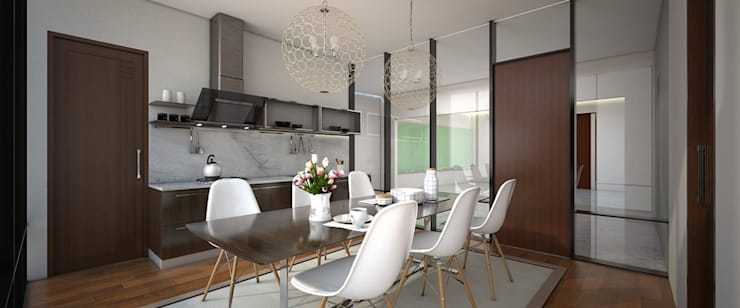 Pantry dan Ruang Makan:   by Vivame Design