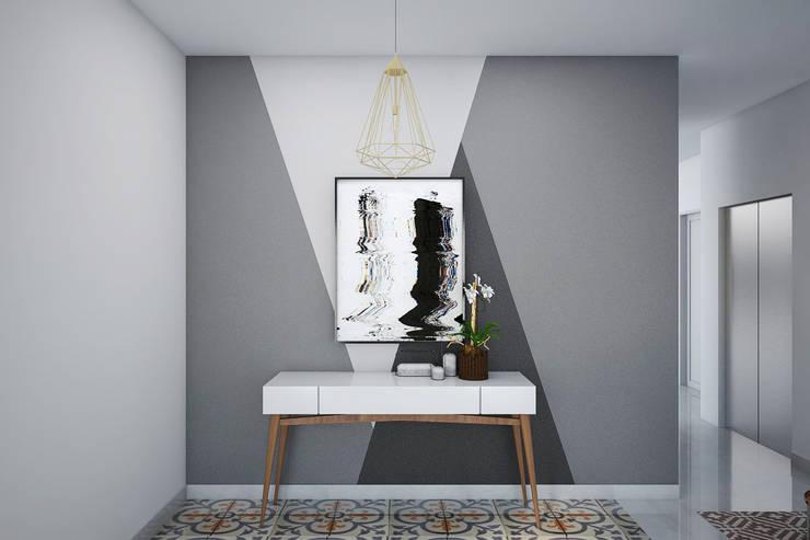 Foyer Ruang Tamu:   by Vivame Design