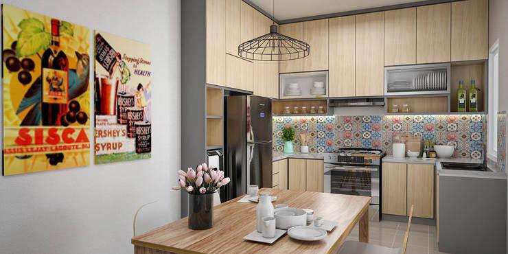 Dapur dan Ruang Makan:   by Vivame Design