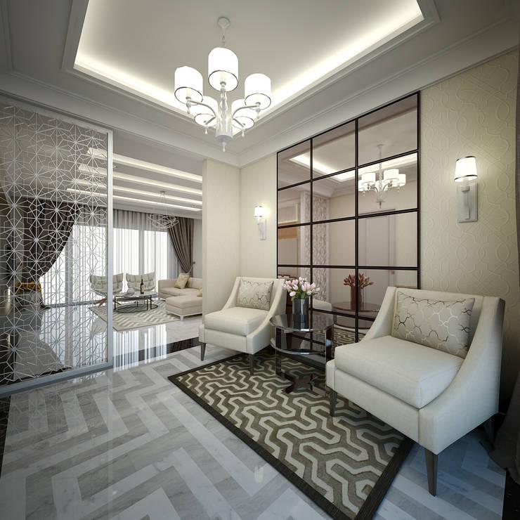Ruang Tamu:   by Vivame Design
