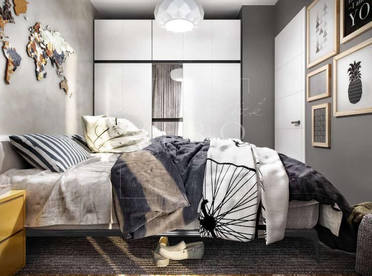 VERO CONCEPT MİMARLIK – Aydın Nazilli Konut:  tarz Yatak Odası