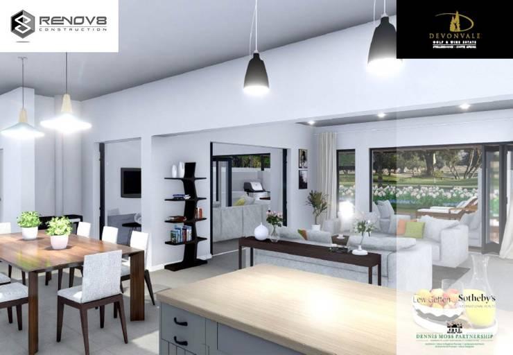 Artists Rendering of Interior Design: modern  by Renov8 CONSTRUCTION, Modern