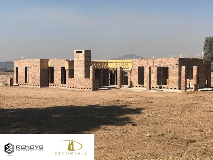 Completion of First Floor:   by Renov8 CONSTRUCTION