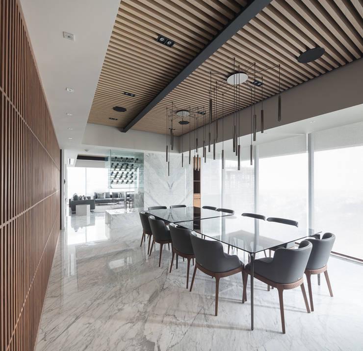 Dining room by Concepto Taller de Arquitectura, Modern