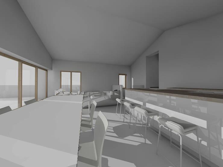Salon - Pièce de vie: Salle à manger de style  par TOPOLOGY