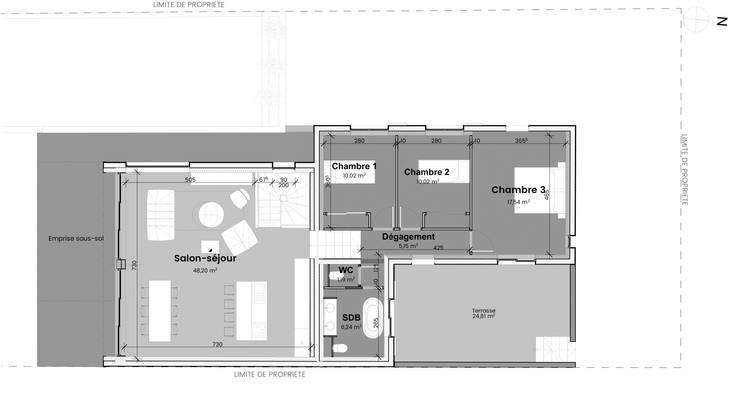 Plan: Maisons de style  par TOPOLOGY