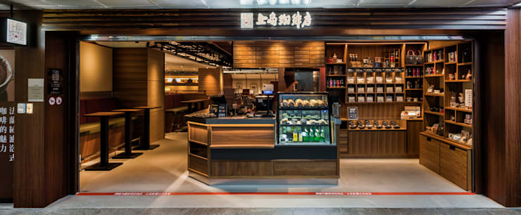 UCC上島咖啡-北車店:  餐廳 by 青易國際設計