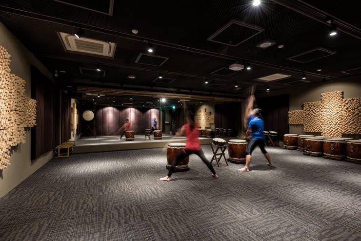 竹北-JF太鼓中心:  商業空間 by 青易國際設計