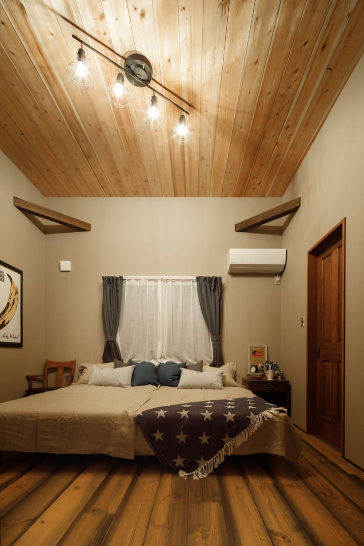 Bedroom by dwarf, Eclectic