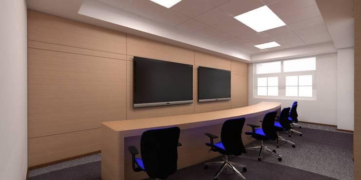 BLUEDART:  Study/office by smstudio,Modern
