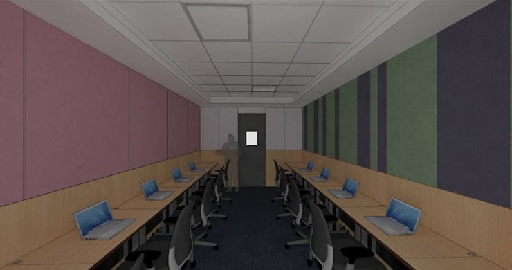 CAPITA:  Study/office by smstudio,Modern