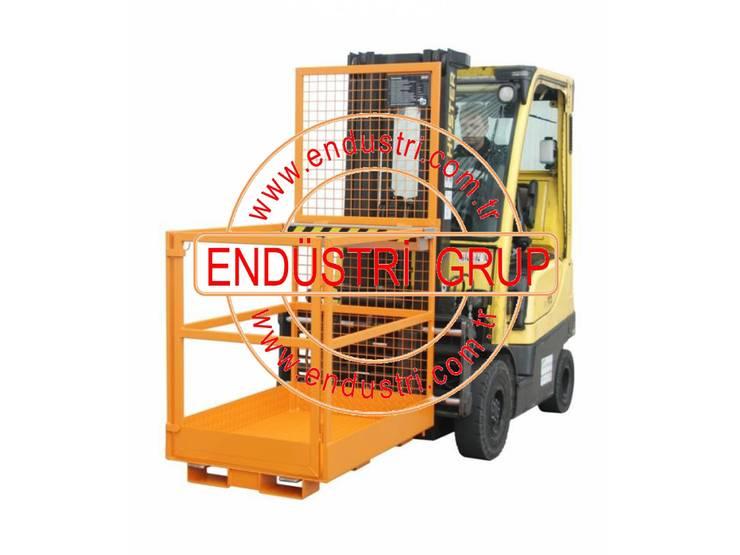 ENDÜSTRİ GRUP – ENDÜSTRİ GRUP - Forklift Personel Adam Taşıma ilkyardım Sepeti:  tarz
