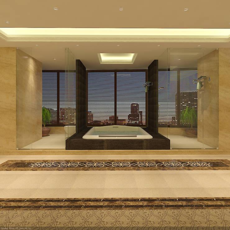 SEA BREEZE:  Bathroom by smstudio,Modern