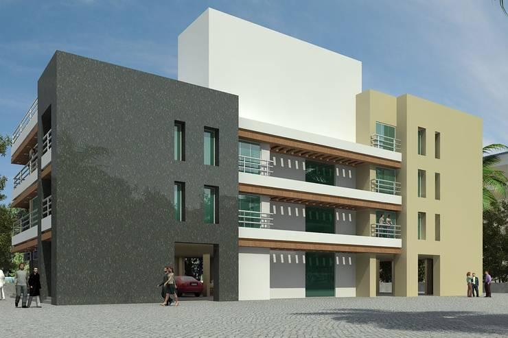 DAHANU 3:  Houses by smstudio,Modern