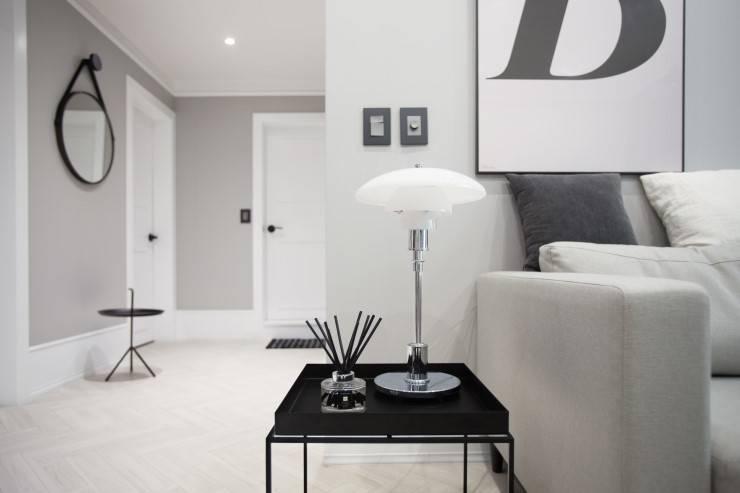 북유럽 감성을 가득 담은 20평대 주택 인테리어: husk design 허스크디자인의  거실