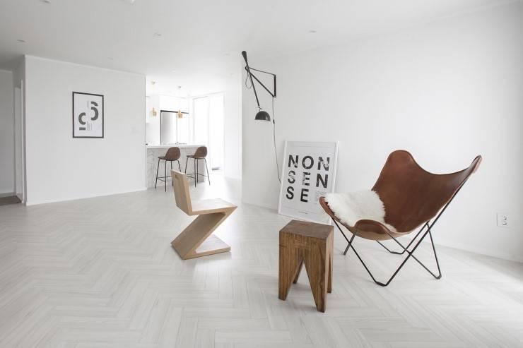 ห้องนั่งเล่น by husk design 허스크디자인