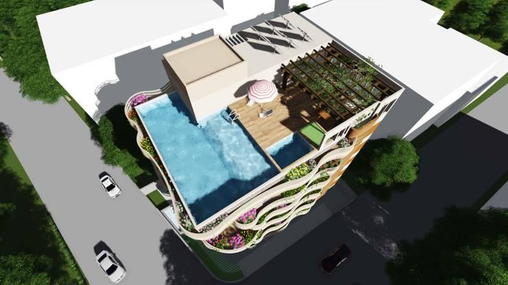 Moderne Häuser von smstudio Modern