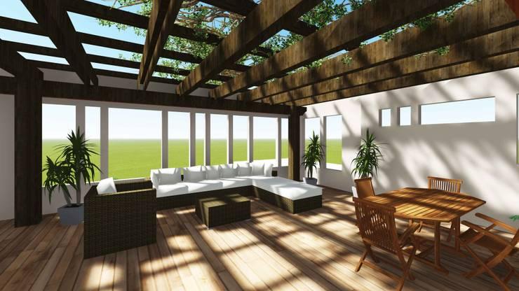 Moderne Wohnzimmer von smstudio Modern