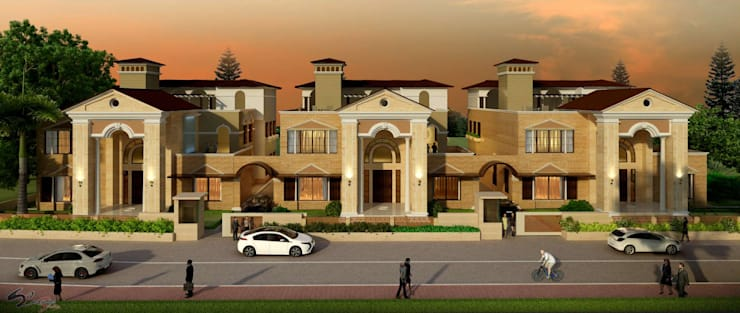 SIRSA:  Houses by smstudio,Classic