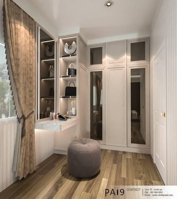 Project : Perfect Park Ratchapruek:  ห้องแต่งตัว by PAI9 Interior Design Studio