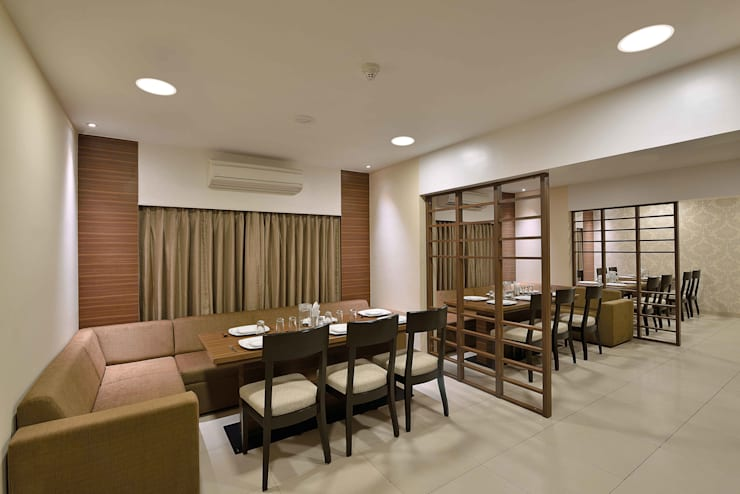 ICICI GUEST HOUSE MUMBAI:  Dining room by smstudio