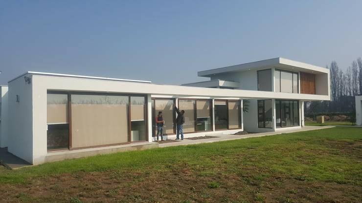 PROYECTO CASA ESPÍNOZA: Casas unifamiliares de estilo  por alvarez arquitecto