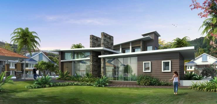 VIVEZA:  Houses by smstudio,Modern