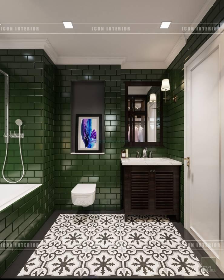 Thiết kế căn hộ Vinhomes Golden River – Phong cách thiết kế mang tiếng vọng xưa:  Phòng tắm by ICON INTERIOR