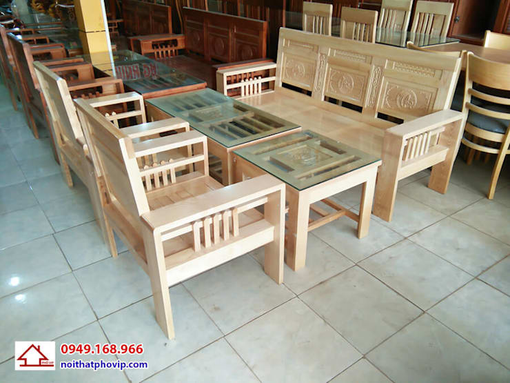 Mẫu SLS677:   by Đồ gỗ nội thất Phố Vip
