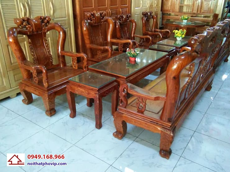 Mẫu SLH086:   by Đồ gỗ nội thất Phố Vip
