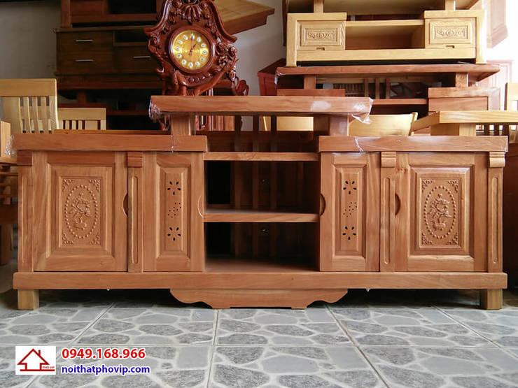 Mẫu KTVH439:   by Đồ gỗ nội thất Phố Vip