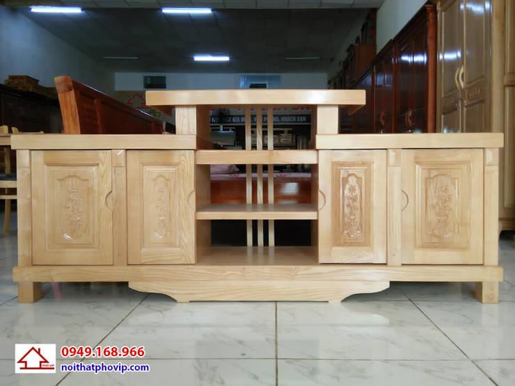 Mẫu KTVS142:   by Đồ gỗ nội thất Phố Vip