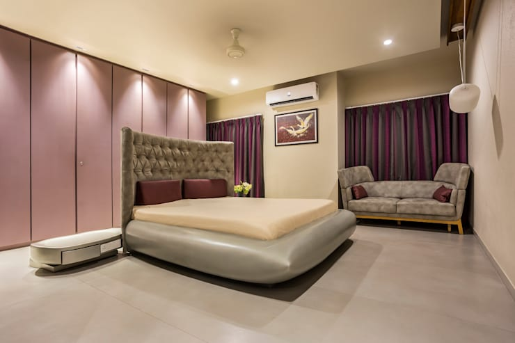 modern Bedroom by Design Paradigm