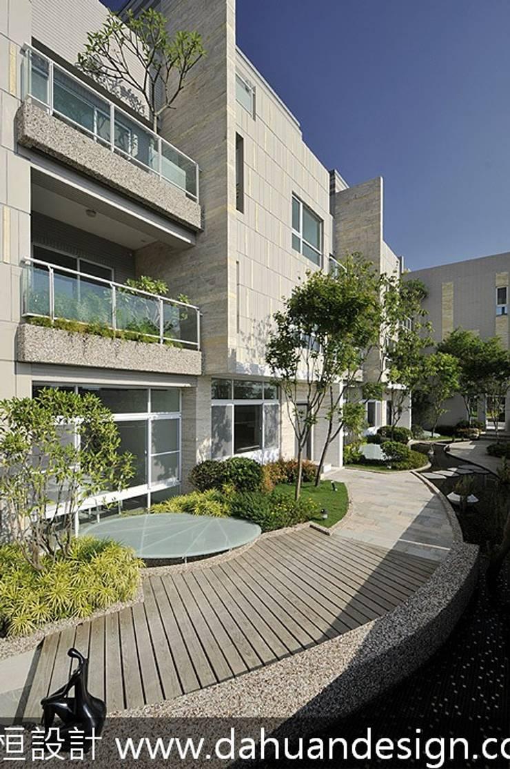 大桓設計-景觀設計-極上之墅:  庭院 by 大桓設計顧問有限公司