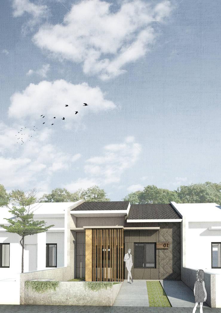 Renovation - Rendy House:   by Studio Benang Merah