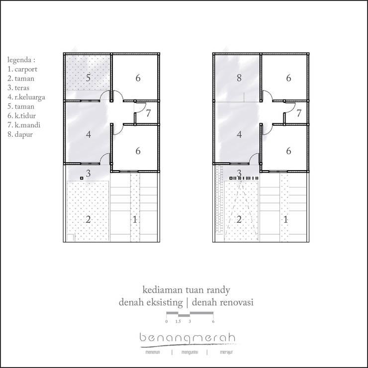 Renovation – Rendy House:   by Studio Benang Merah