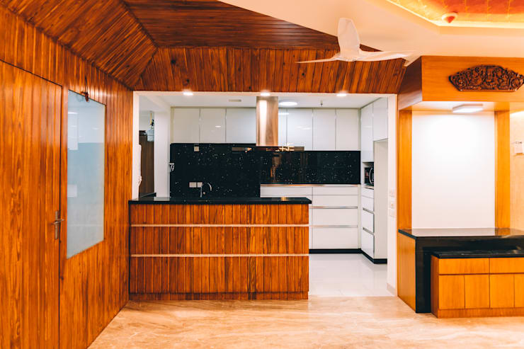 Dining and Kitchen  - Origami Spaces(Origamispaces.com) :  Kitchen units by Origami Space Design
