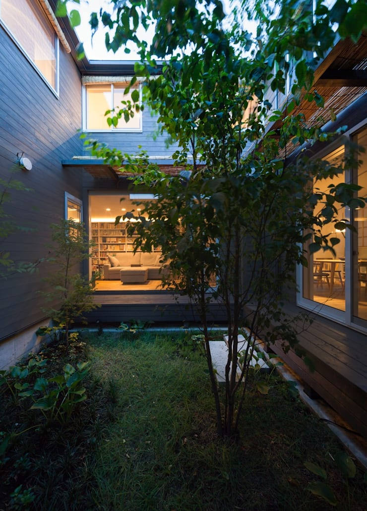 Jardin scandinave par HAN環境・建築設計事務所 Scandinave