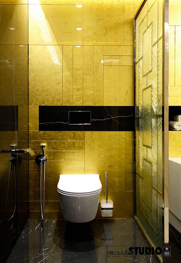 Bathroom by MIKOŁAJSKAstudio , Eclectic